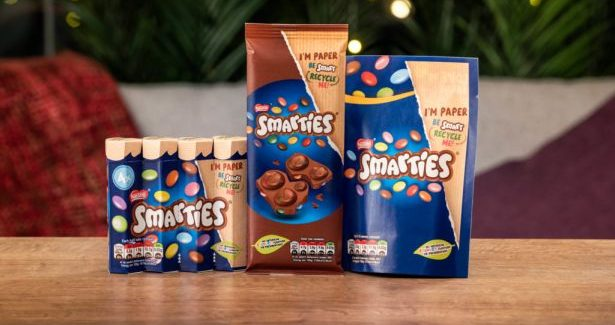 Smarties Opts For Recyclable Packaging